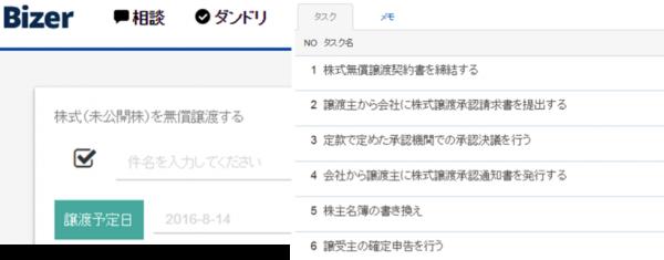 株式譲渡③